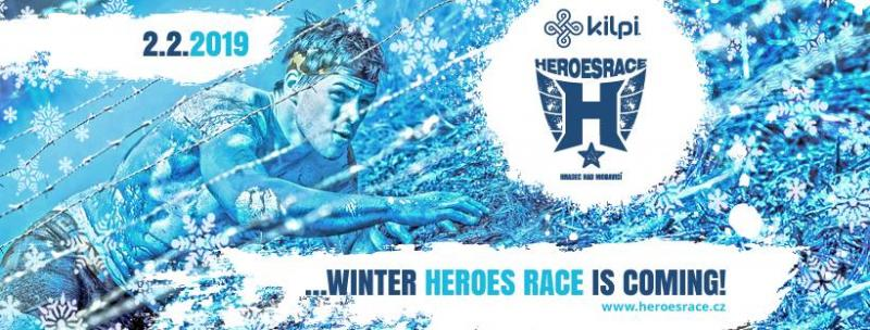Winter Kilpi Heroes Race 2019 - překážkový závod